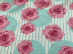 BW-Jersey Rose in Stripe Black (Mint)